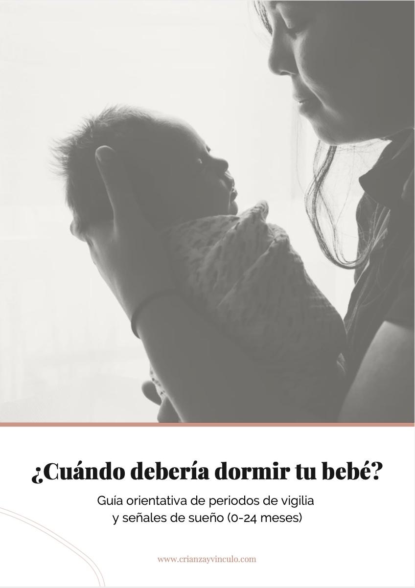 ¿Cuándo debería dormir tu bebé?